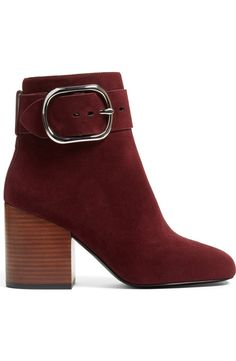 It was game over as soon as these oxblood suede Alexander Wang booties were spotted at the Anniversary Sale. Couldn't leave without them!