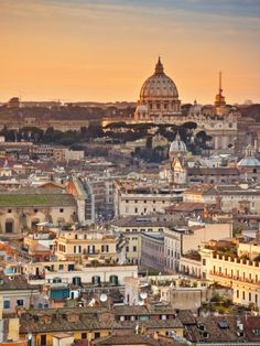 View from the Top of Vittoriano, Rome, Lazio, Italy