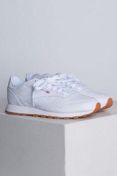 5bf13d85baf Reebok Classic Leather Gum Women s Sneaker in White