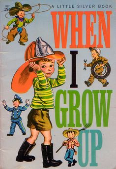 When i grow up book cover