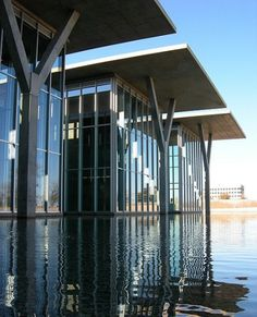 Modern Art Museum of Fort Worth by Tadao Ando ...BTW, check this out!!!! : http://artcaffeine.imobileappsys.com