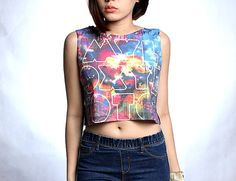 Coldplay Shirt Crop Top T Shirts Tank Tops Size S M by HowDoiRock, $14.99
