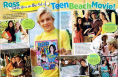 ROSS LYNCH - TEEN BEACH MOVIE - R5 - AUSTIN & ALLY - MAGAZINE PINUP - POSTER  | eBay