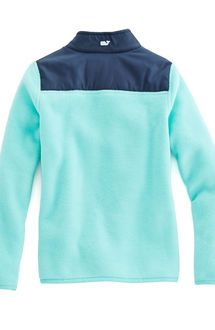 Girls Fleece Ribbon Neck Shep Shirt
