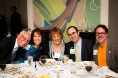 Good friends:  Jim Walberg, Dawn Thomas, Trinkie Watson, Raziel Ungar, and Ron Armstrong, by The Institute for Luxury Home Marketing, via Flickr