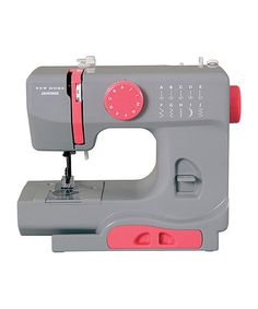 Another great find on #zulily! Graceful Gray Sewing Machine #zulilyfinds