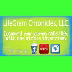 #LifeGram Document your family history... #simple #interview #southflorida #centralflorida