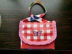 Purse, DIY, Bag, Tote, messenger bag, kid, girl, gift idea, fabric, craft, to do, idea