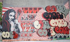 Street Art By Cope2, Obey - New York City (NY)