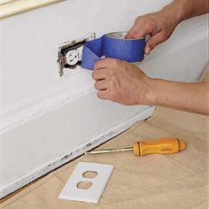 The secret to a great paint job?  It's all in the prep.  We've got your room checklist here.