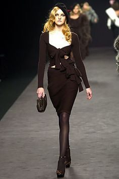 Sonia Rykiel Fall 2004 Ready-to-Wear Fashion Show - Caroline Trentini (Elite)