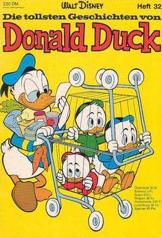 Die Tollsten Geschichten von Donald Duck 32 Pato Donald Y Daisy, Donald Duck, Disney Duck, Disney Art, Cartoon Books, Comic Books, New Ducktales, 1930s Cartoons, King Koopa