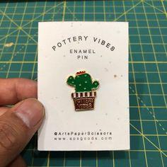Pottery Vibes enamel pin