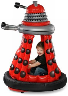 Blow Up Dalek.  so we think it's a good idea to teach children they can play with daleks?  just saying