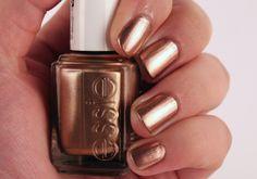 finally mine - todays nails 26.10.12 Essie 'Penny Talk'