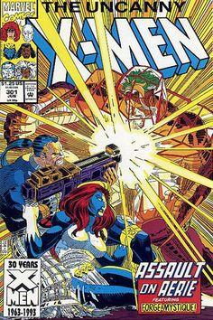 Uncanny X-Men # 301 by John Romita Jr. & Dan Green