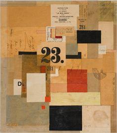 Kurt Schwitters - Mz 601, 1923
