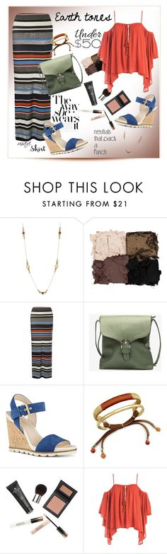"""""""Earth tones & neutrals under $50 ...#maxiskirt #earthtones #polyvore"""" by fashionlibra84 ❤ liked on Polyvore featuring INC International Concepts, Illamasqua, Dorothy Perkins, Nine West, Borghese, Sans Souci, maxiskirt, earthtones, under50 and skirtunder50"""