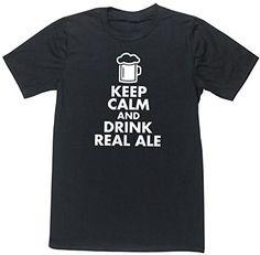HippoWarehouse Keep calm and drink real ale unisex short sleeve t-shirt HippoWarehouse http://www.amazon.co.uk/dp/B00V6UT2ES/ref=cm_sw_r_pi_dp_MTU7vb035ZTYD