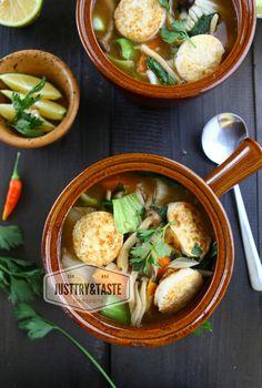 Sapo Tofu dan Jamur