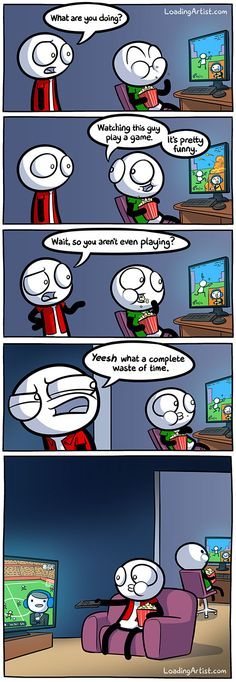 What a complete waste of time.. click to view the full comic!