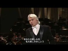 ▶ Dmitri Hvorostovsky - Queen of Spades; Ya vas lyublyu (Japan 2005) HD - YouTube
