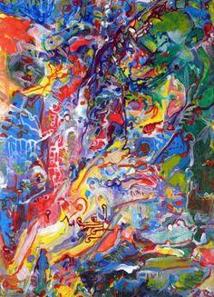 "Saatchi Art Artist Igor Eugen Prokop; Painting, ""URBAN SPRAWL"" #art"