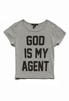 God Is My Agent Tee   FOREVER21 - 2000066826 #SummerForever #F21xMe