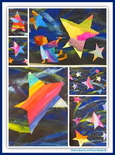 Eric Carle Birthday Party: RoundUP of Children's Art; Draw Me A Star by Eric Carle... can also be a mural or bulletin board decoration