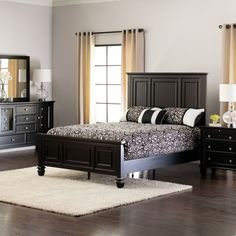 Sandy Beach Bedroom Collection   Black | Jeromeu0027s Furniture Home  Decor+Rustic+Traditional+