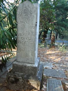 """Calistoga, CA Pioneer Cemetery.  Lovina Cyrus was one of the few survivors of the Donner Party.  Her epitaph says """"She hath done what she could"""""""