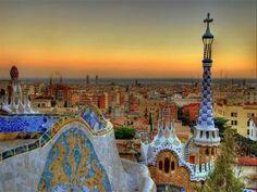 Parc Gaudi. Barcelonne