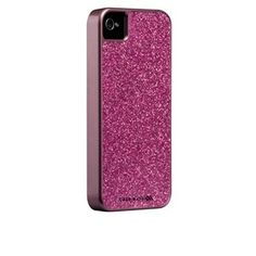 CaseMate Glam Case  for iPhone 4 / 4S  in Hot Pink