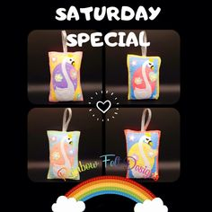 Felt Gifts, Facebook Sign Up, Small Businesses, Swan, Rainbow, Colour, Pop, Decoration, Handmade Gifts