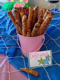 Ocean themed food ideas