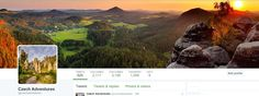 If you are on twitter then come and follow us, and see all the great thinks you can do and see in Czech Republic.