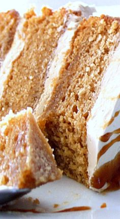 Toffee Cake… layers and layers of crazy good! ❊