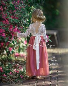 Long sleeve lace and tulle flower girl dress white lace rustic wedding dress burgundy girls Christmas dresses winter flower girl dress Flower Girl Ideas Burgundy Christmas Dress Dresses Flower Girl Girls lace long rustic sleeve Tulle Wedding White winter Dress Flower, Flower Girl Dresses Boho, Tulle Dress, Boho Dress, Nice Dresses, Girls Dresses, Dress Lace, Maxi Dresses, Flowergirl Dress