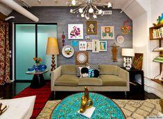 Jonathan Adler New York | Jonathan Adler's New York Office Space Is Just Like Him: Colorful ...