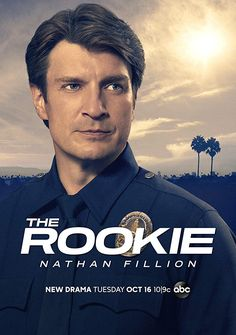 Trailer, promos, clips, featurette, images and poster for ABC's new series THE ROOKIE starring Nathan Fillion. Eric Winter, Nathan Fillion, Hd Movies, Movies Online, Movies And Tv Shows, Movie Tv, The Rookie Movie, Kristina Vogel, Bon Film