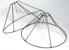 How to make a wire lampshade frame lamp shade frame wire lamp shade wire frame greentooth Choice Image