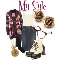 """get the look - my style"" by onceuponanovel on Polyvore"