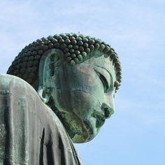 Do you recognize it? It's an uncommon view of great Buddha of Kamakura. Trying to find a new point of view capturing the details is like a game for me.  Vous le reconnaissez ? Voici une vue inhabituelle du grand bouddha de Kamakura. Trouver de nouveaux angles capturer les détails de sites célèbres c'est un petit jeu auquel je prends très vite goût en voyage.  #kamakura #kamakurajapan #tokyodaytrip #uncommonview #statue #greatbuddha #bronze #japan #japon #travel #visitjapanfr #japanlover…