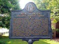 New Echota: Cherokee National Capital | Flickr - Photo Sharing!