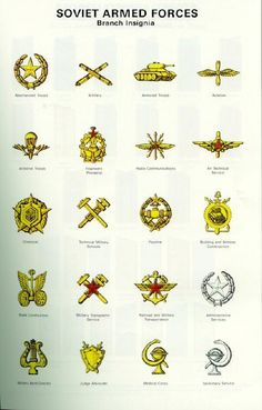 1969-1992 branch insignia of the Soviet Army.
