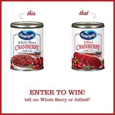 Ocean Spray Cranberry Prize Pack Giveaway
