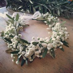 Flower Headpiece, Floral Wreath, Bridesmaid, Wreaths, Flowers, Home Decor, Maid Of Honour, Decoration Home, Door Wreaths
