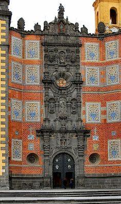 San Francisco Church - Puebla, Mexico