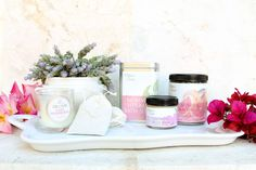 Mommy Herbal Bath Soak -$20 Growing Belly Balm - $12 Lavender Grapefruit Sugar Scrub - $22 ------------------------------- Perfect little gift set for the new mama or mama to be.