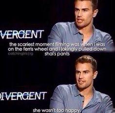 ~Theo James on Divergent Divergent Memes, Divergent Hunger Games, Divergent Fandom, Divergent Trilogy, Divergent Insurgent Allegiant, Insurgent Quotes, Theo James, Theo Theo, Theodore James